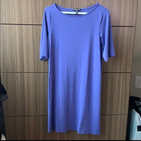 Eileen Fisher Dresses & Skirts - Eileen Fisher blue jersey dress
